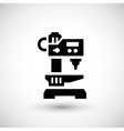 Drilling machine icon vector image vector image