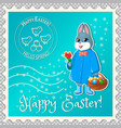 easter marks mail-01 vector image