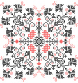 embroidery ornament vector image vector image