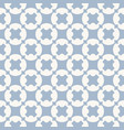 geometric seamless pattern white and blue texture vector image vector image
