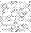 grey abstract repeating diagonal square pattern vector image vector image