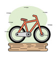 Orange bike icon