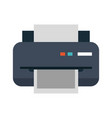 printer printing icon image vector image vector image