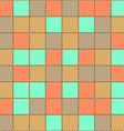The pattern diagonal color lines vector image