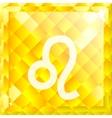 Zodiac Leo vector image