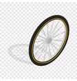 bicycle whee isometric icon vector image