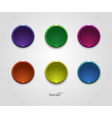 Colorful button icons for your site vector image