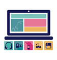 computer database server icon stock vector image vector image