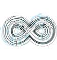 Font Symbol vector image