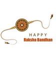 indian festival raksha bandhan vector image vector image
