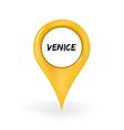 Location Venice vector image
