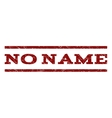 No Name Watermark Stamp vector image vector image