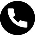 phone receiver vector image