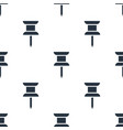 seamless drawing pin pattern education symbol vector image