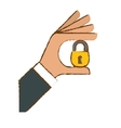 security or privacy related icons image vector image vector image
