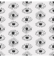 abstract eyes seamless pattern vector image vector image
