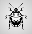Bugs Tribal vector image vector image
