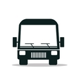 bus service public isolated icon design vector image