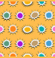 comic bright elegant seamless pattern vector image
