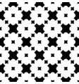 floral seamless pattern crosses squares vector image vector image