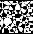 monochrome abstract background black and white vector image vector image