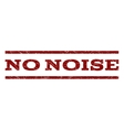 No Noise Watermark Stamp vector image vector image