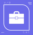 portfolio icon symbol graphic elements for your vector image