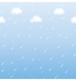 rainfall vector image vector image
