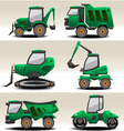 road equipment vector image vector image