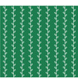 seamless green pattern vector image vector image