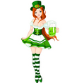 St Patrick's day girl