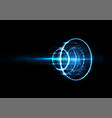 technological future worldwide system abstract vector image vector image