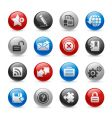 web 20 icons vector image vector image