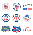 Made in USA labels badges and stickers