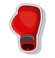 boxing gloves isolated icon vector image
