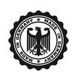 germany black vector image vector image