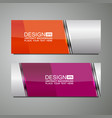 header background design vector image vector image