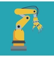industrial robot hand tool vector image vector image