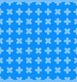 seamless cross pattern - geometric bright vector image
