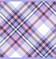 seamless plaid check pattern vector image