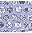 shabby geometric seamless pattern vector image vector image