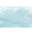 snow frost effect abstract bright white shimmer vector image vector image
