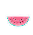 watermelon for healthy eating organic food vector image vector image