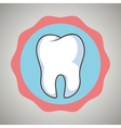 symbol tooth isolated icon design vector image