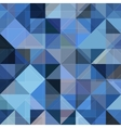 Abstract geometry blue grunge background vector image vector image