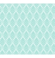 Abstract White Lace seamless pattern on blue vector image