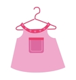 Baby clothes and wear theme design vector image vector image