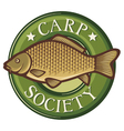 Carp society symbol vector | Price: 1 Credit (USD $1)