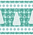 Christmas seamless background with balls vector image vector image