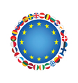 European Union sign vector image vector image